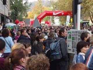 14. LJubljanski maraton; publika i trkači