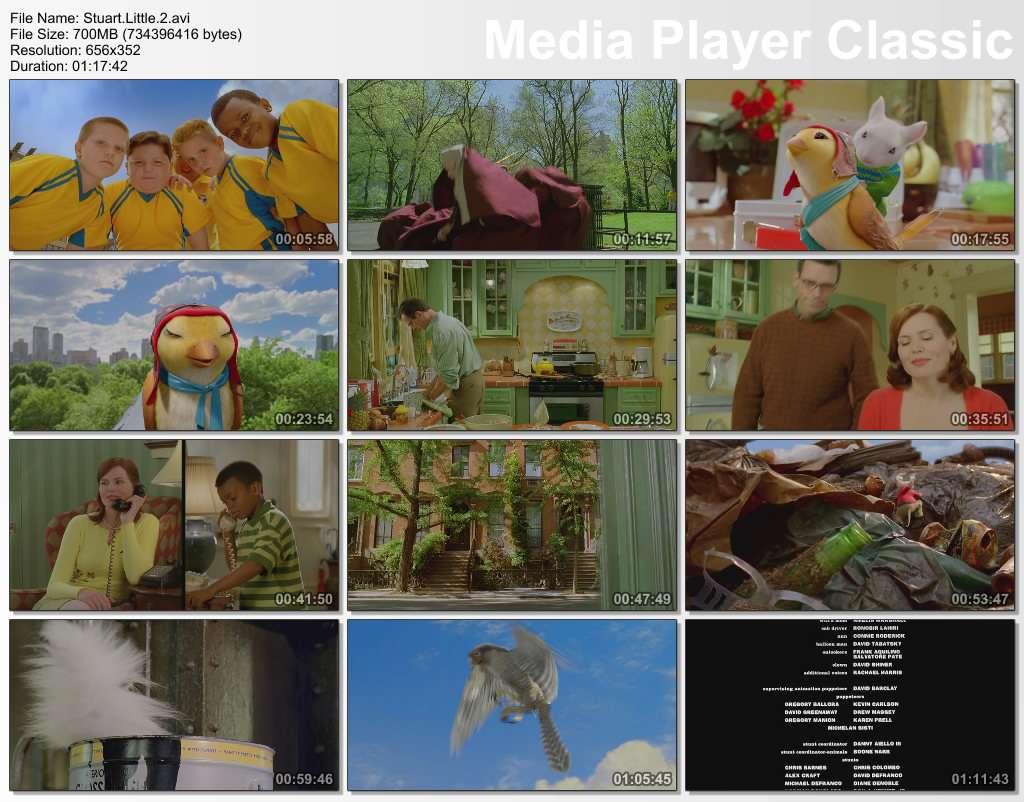 Küçük Kardeşim 2   Stuart Little 2 2002 (Türkçe Dublaj) BRRip XviD
