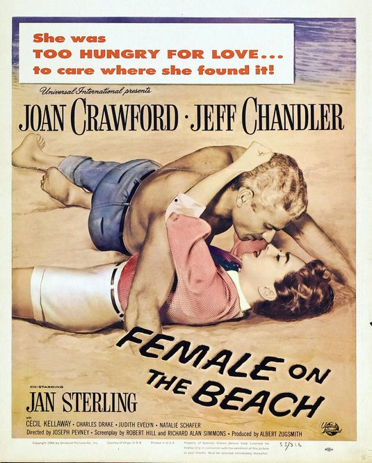 49kfvo6 Joseph Pevney   Female on the Beach (1955)