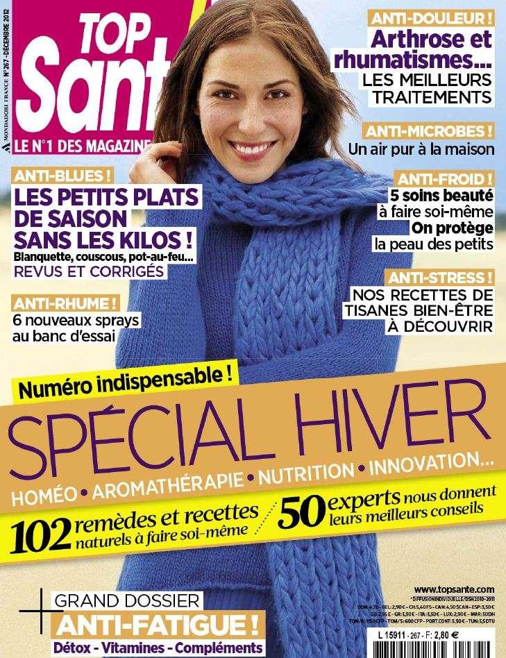 Top Santé N°267 Décembre 2012