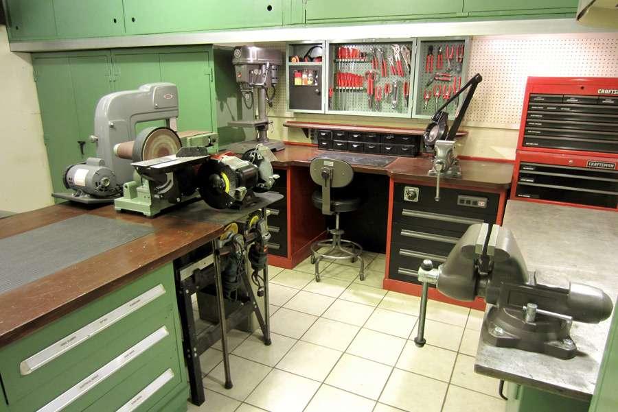 Garage Shop Ideas Work Benches